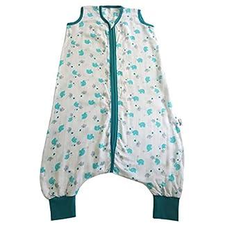 Saco de dormir con pies Slumbersac y mangas largas desmontables grosor 0.5 – disponibles en varios diseños y 6 tallas