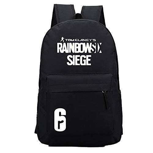 Johannas Rucksack Schultasche RSS Buch Tasche Beutel Casual Canvas Handtasche Travelbag Aufbewahrungstasche für ()