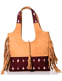 Twach Large Leather Tote