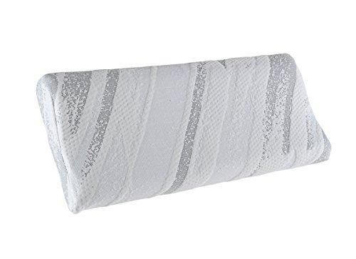 PIKOLIN Almohada Pillow Visco Cervical. Ergónomica y con firmeza Media 90 cm
