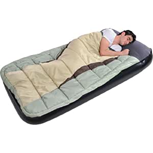 Blueborn 2 in 1 sleepcombo twin lit gonflable avec sac de - Lit gonflable avec sac de couchage integre ...