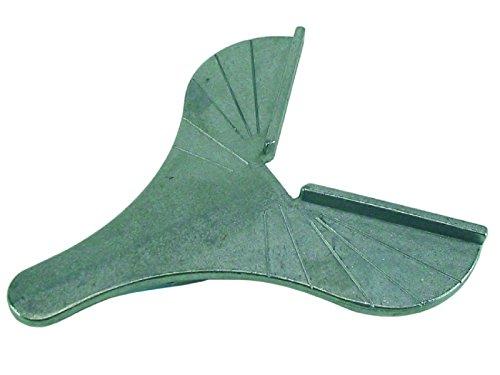 HaWe 3101.2 Unterlage mit Gradeinteilung für Gehrungsschere, Aluminium