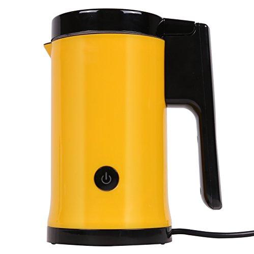 FJ Machine à Mousse de Lait Automatique, Café, Compagnon, Maison, Cuisine, Appareils Ménagers,Jaune,156 * 112 * 200mm