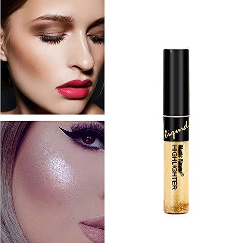 Cover Girl-auge-sticks (Cwemimifa Textmarker-Stick,Liquid Foundation Concealer Makel Balsam BB Gesicht Makeup Light Dark Makeup Tool,Gold)