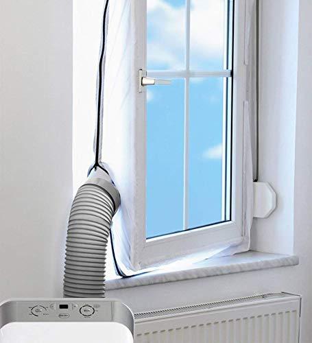 G&M only AirLock Fensterabdichtung für mobile Klimageräte und Ablufttrockner