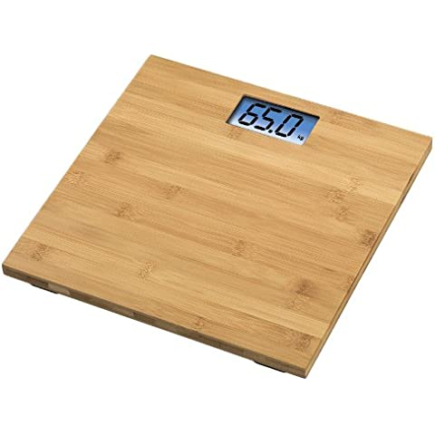 Xavax 00106979 Rosie Bamboo - Báscula digital, madera