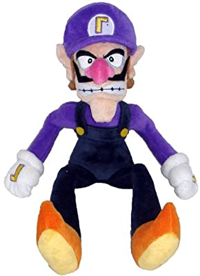 "Super Mario Plush - 11"" Waluigi Soft Stuffed Plush Toy Japanese Import (japan import) de San-El"