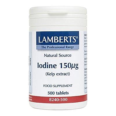 IODINE 150µg (Kelp Extract) by Lamberts Plus