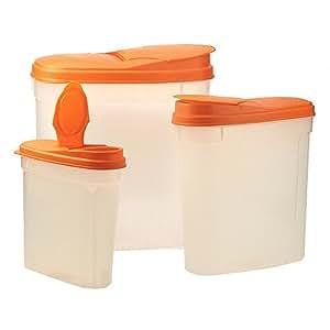 REVIMPORT - Boites verseuses plastique Set de 1,3 L+2,7 L+5 L*