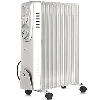 VonHaus White Oil Filled Radiators - 6, 7, 9 & 11 Fin Heaters