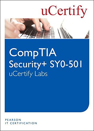 CompTIA Security SY0-501 uCertify Labs Student Access Card