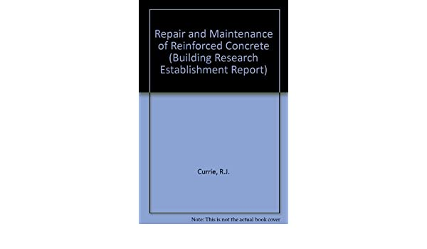 Buy Repair and Maintenance of Reinforced Concrete (Building