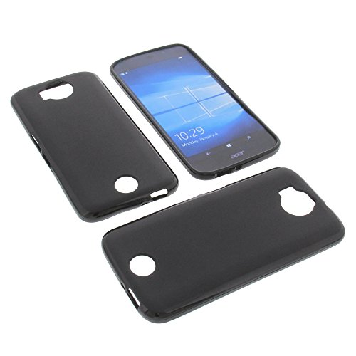 Price comparison product image foto-kontor Protective case for Acer Liquid Jade Primo Rubber TPU mobile phone cover black