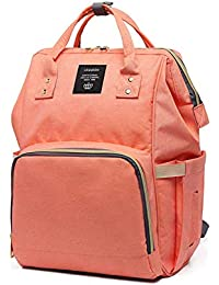 d435b7e06187 Diaper Bag Travel Backpack Large Capacity Tote Shoulder Nappy Bag Organizer  for Baby Care with Insulated
