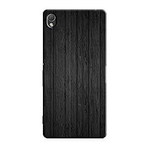 BLACK WOOD BACK COVER FOR SONY XPERIA Z3
