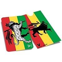V Syndicate Grinder Card -carte Grinder Rasta Lion