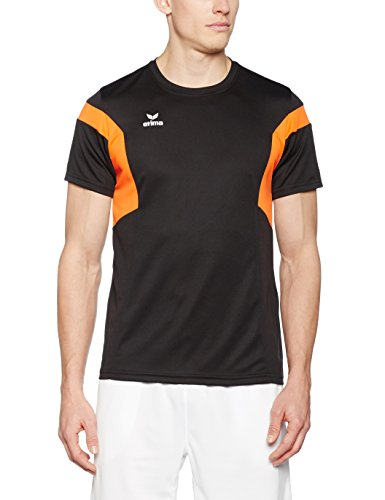 Erima Herren Classic Team T-Shirt schwarz/Orange