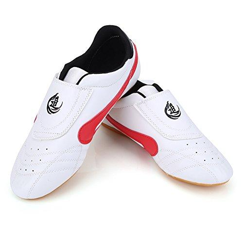 VGEBY taekwondo boxe scarpe, Tai Chi Kongfu scarpe leggero traspirante karate Traning scarpe per...