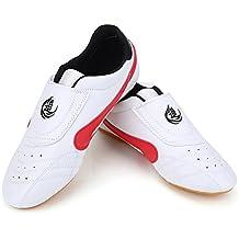 Zapatillas de Taekwondo Antideslizantes Zapatos de Artes Marciales (tamaño ...