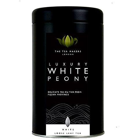 The Tea Makers of London Pai Mu Tan (White Peony) White Tea 50 g Caddy