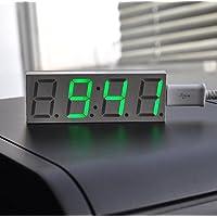 GOZAR Electrónica De Bricolaje De 0,8 Pulgadas Dot Matrix Led Digital Reloj Electrónico Kit