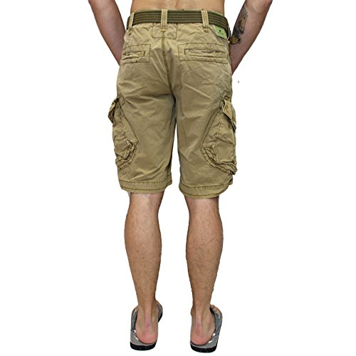 Jet Lag Shorts Take off 3 kurze Hose in charcoal cement schwarz olive camouflage Gold