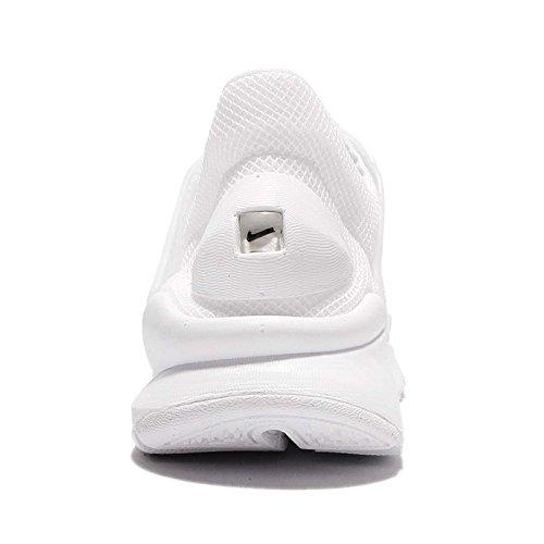 Nike Wmns Sock Dart BR, Scarpe da Ginnastica Donna Bianco