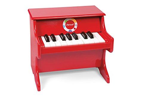 Janod - J07622 - Confetti Red Piano