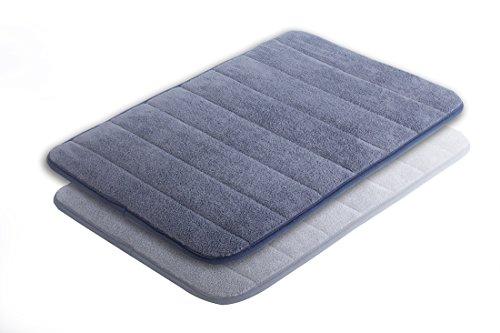 elinkume-tapis-de-bain-antiderapant-blau-bain-vorleger-memoire-mousse-douce-eau-confortable-douche-a
