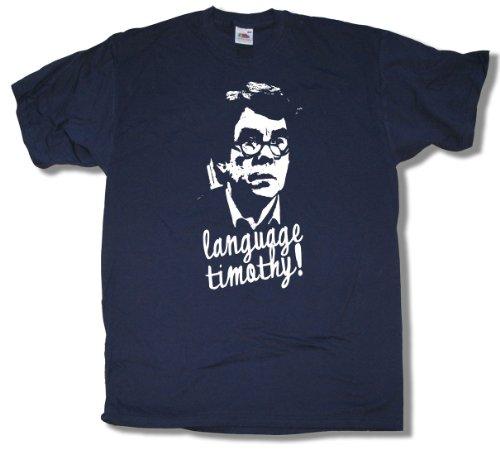 Sorry Language Timothy! T Shirt by Old Skool Hooligans