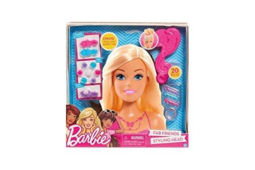 Smoby 320301 - Barbie Frisierkopf Fab Friends