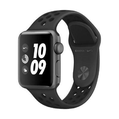 Apple Watch Nike+ OLED GPS (satélite) Gris reloj inteligente - relojes inteligentes (OLED, Pantalla táctil, GPS (satélite), 18 h, 26,7 g, Gris)
