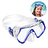 KOROSTRO Taucherbrille Kinder, Schnorchelbrille Schwimmbrille Kindertaucherbrillen Tauchmaske,...