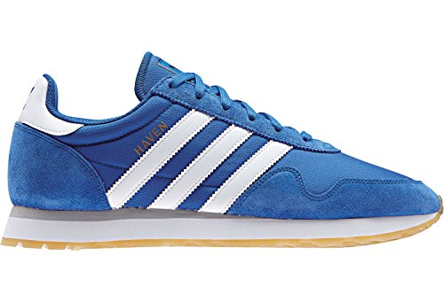 adidas BB1283, Scarpe da Ginnastica Basse Uomo Blu (Blue/footwear White/gum)
