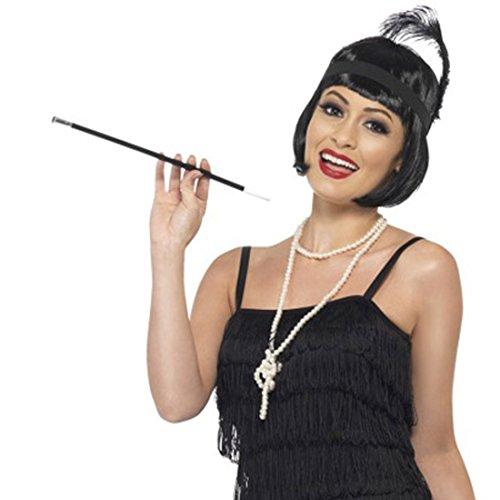 Charleston Kostüm Set 20er Jahre Accessoires Flapper Schmuck Mafia Damenschmuck Vintage Modeschmuck Mottoparty Kostüm Zubehör