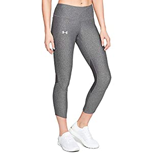 41iNuQ8dwnL. SS300 Under Armour - Armour Fly Fast Crop, Pantaloni a Compressione Donna