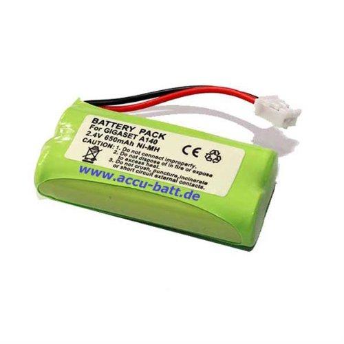 Batería teléfono acumulador Siemens Gigaset A-Serie