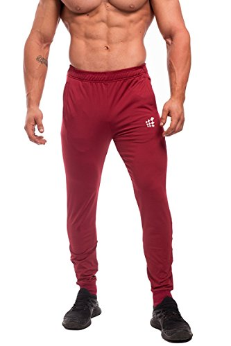 Jed North Men's Active Casual Tapered Workout Sweat Pants