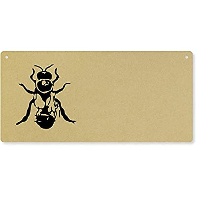 'Drone Bee' Large Wooden Wall Plaque / Door Sign (DP00017634) from Azeeda