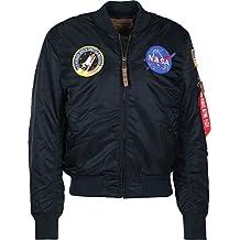 Alpha Industries Hombres Chaqueta de invierno MA-1VF NASA