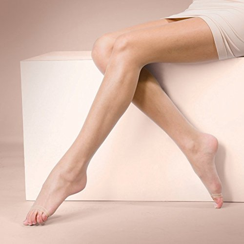 Silky Naturals Open Toe Tights