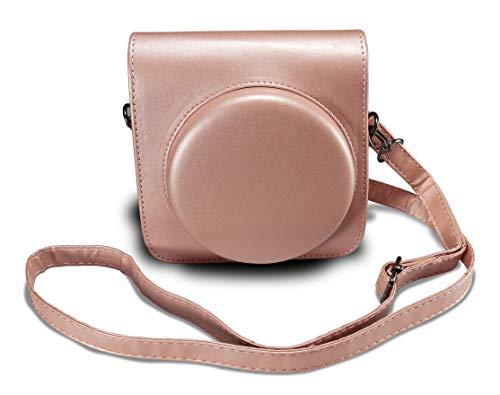 Supremery Tasche für Fujifilm Instax SQ 6 EX D Sofortbildkamera Kunstleder Case Schutz-Hülle Etui Tragetasche - Gold Square Hülle Case
