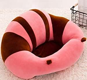 HOLME'S Soft Plush Chair (Cherry Red and Pink)