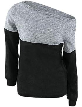Vestido de invierno mujer sweather, RETUROM moda nuevo estilo para mujer Casual hechizo Color largo manga puente...