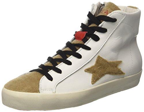 ISHIKAWA Unisex-Erwachsene 1239 Hohe Sneaker, Weiß (Bianco), 38 EU