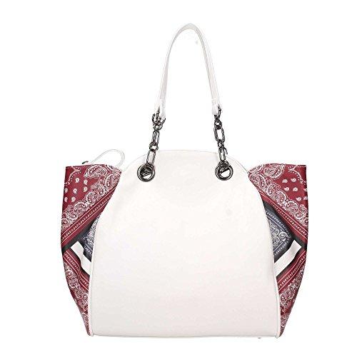 Borsa Shopping Bag Classic Mini Etno Ama White Weiß