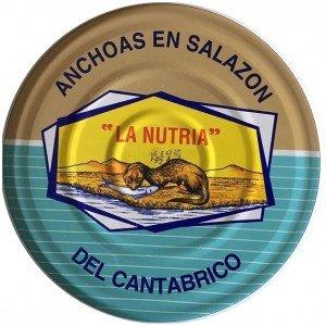 Acciughe del Cantabrico nella salatura La Nutria RO-2350