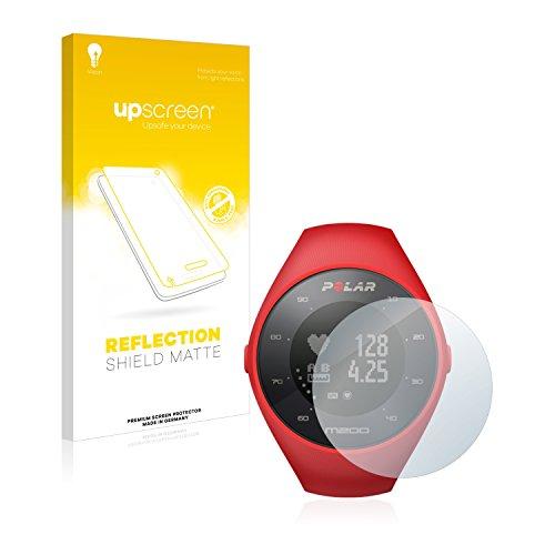 upscreen Matt Schutzfolie kompatibel mit Polar M200 - Entspiegelt, Anti-Reflex, Anti-Fingerprint