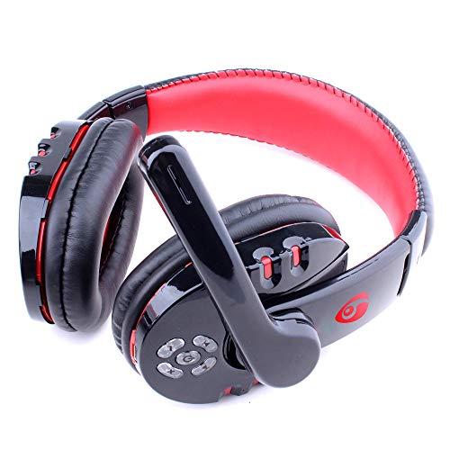 PMWLKJ Auriculares Bluetooth Gaming Auriculares Estéreo Inalámbrico Profesional Gamer Auricular Micrófono Retroiluminado para Ps4 Teléfono Pc Laptop