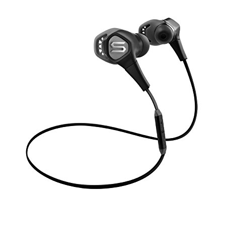 Soul run free pro cuffie sportive ergonomiche in-ear con bluetooth, nero